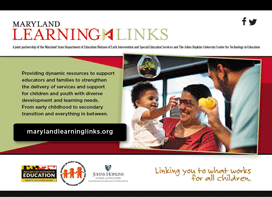 Maryland Learning Link postcard image